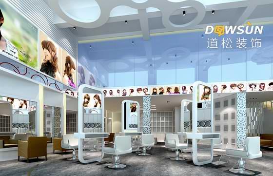 亚博app体育官网审美美容美发店设计